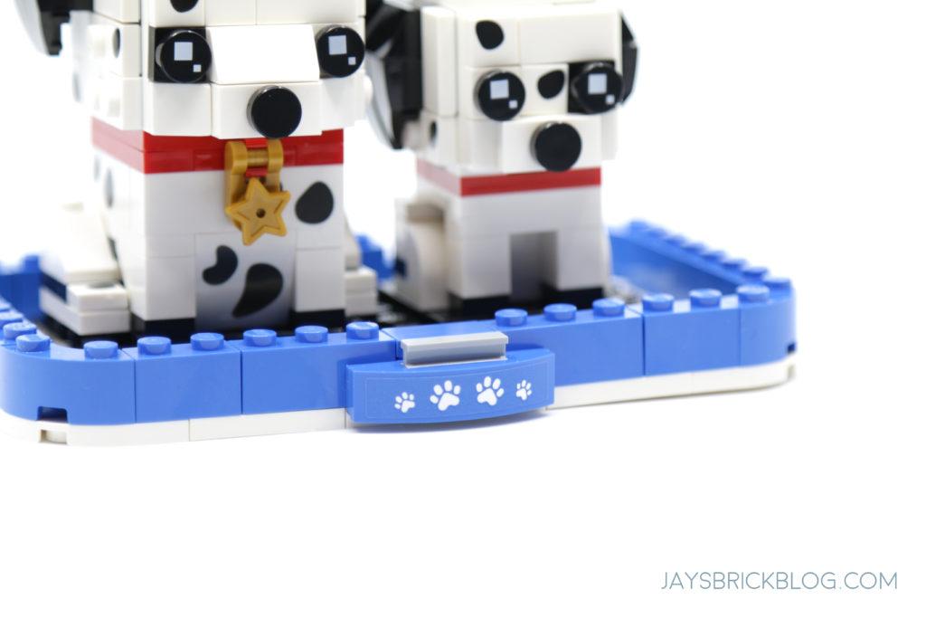 LEGO 40479 Dalmatian Brickheadz Paw Plate