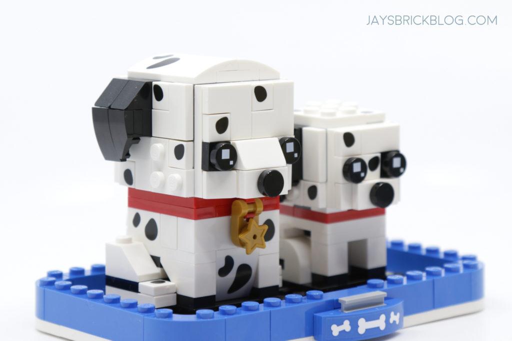LEGO 40479 Dalmatian Brickheadz Side