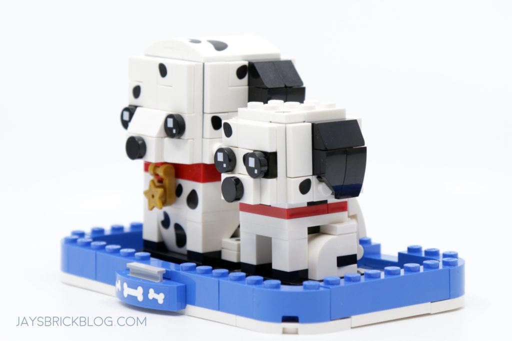 LEGO 40479 Dalmatian Brickheadz Side View 2