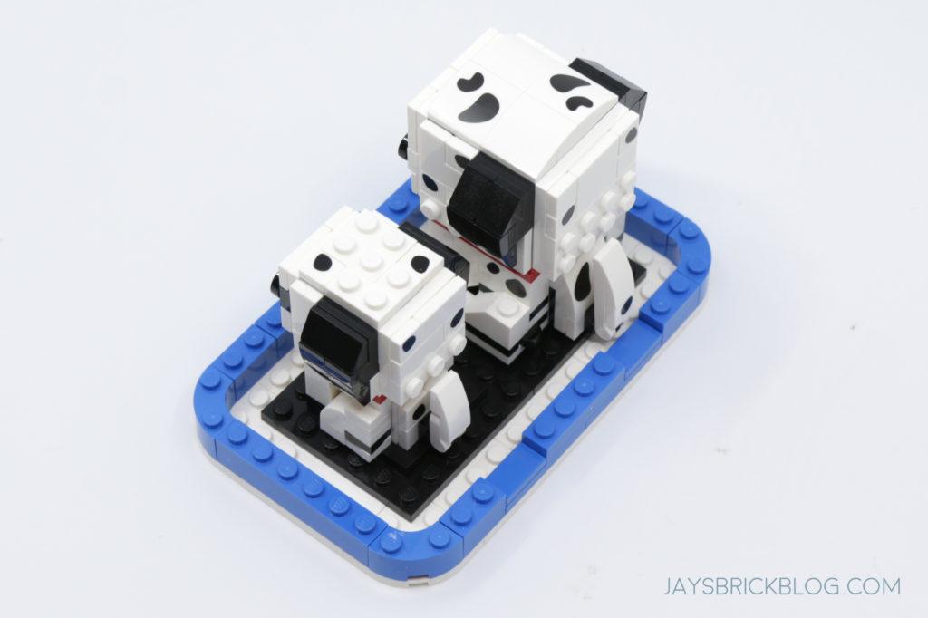 LEGO 40479 Dalmatian Brickheadz Top View