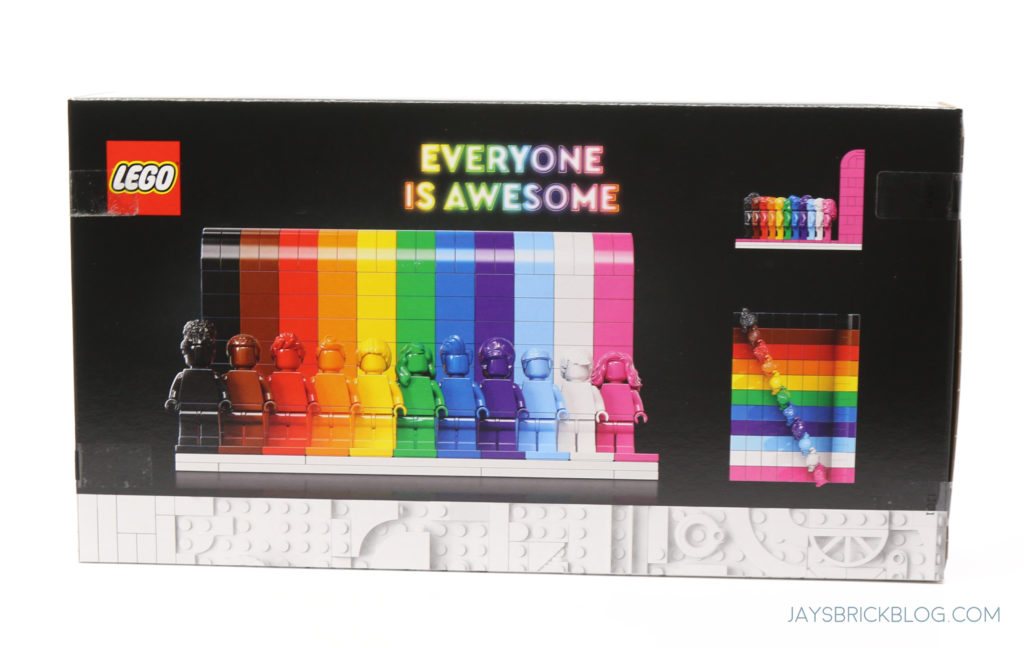 LEGO 40516 Everyone is Awesome Boxc Back