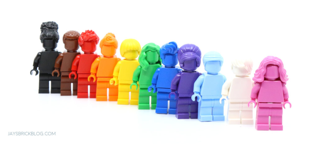 LEGO 40516 Everyone is Awesome Minifigures