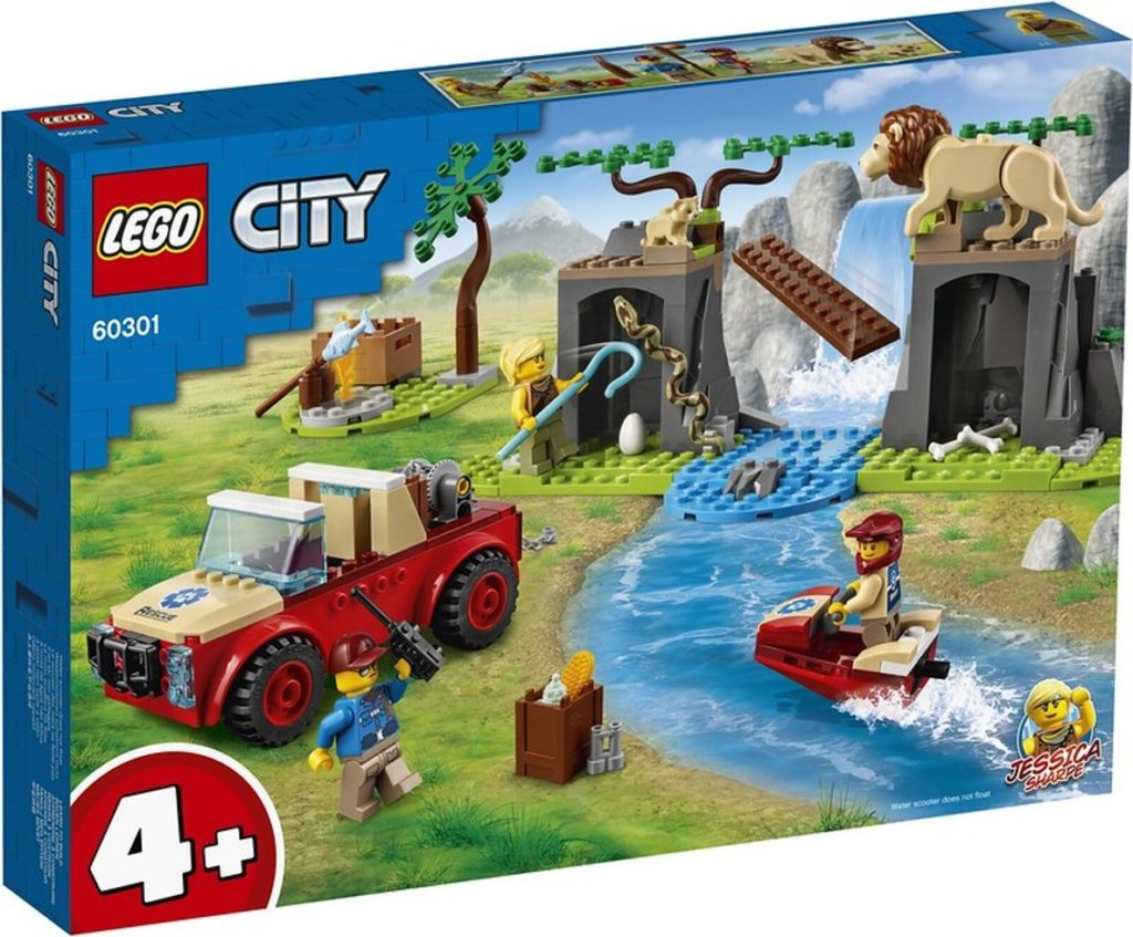 LEGO 60301 Animal Rescue Off Road Vehicle