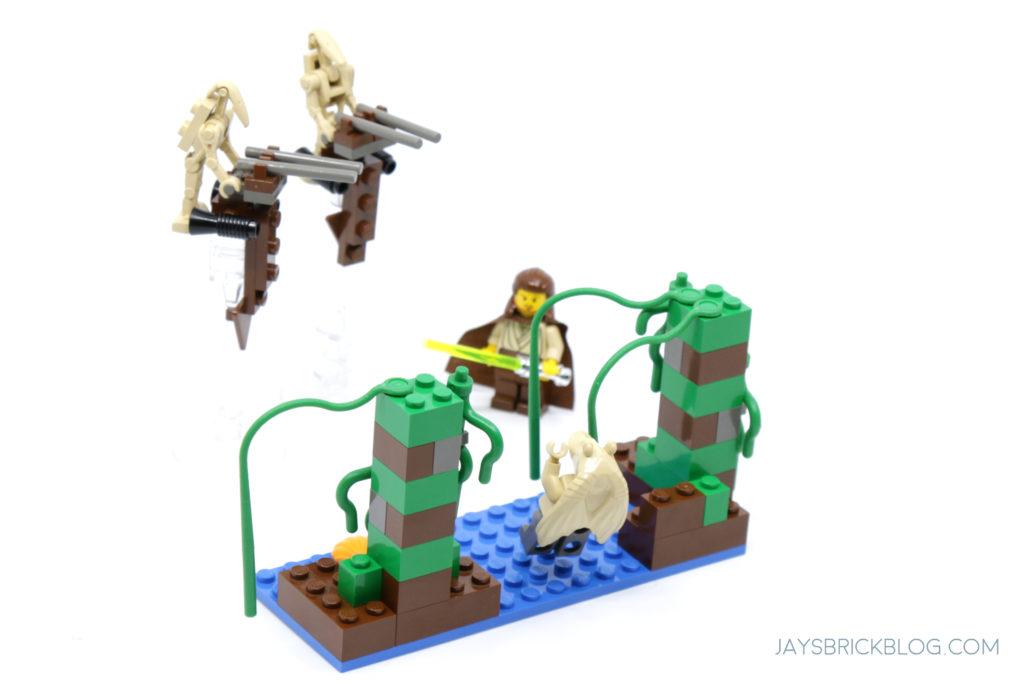 LEGO 7121 Naboo Swamp Back