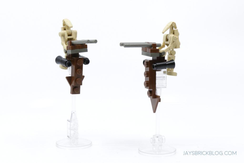 LEGO 7121 Naboo Swamp Battle Droid STAP