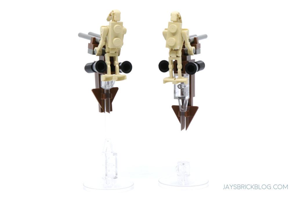LEGO 7121 Naboo Swamp Battle Droid STAP Back