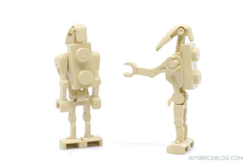 LEGO 7121 Naboo Swamp Battle Droids Back