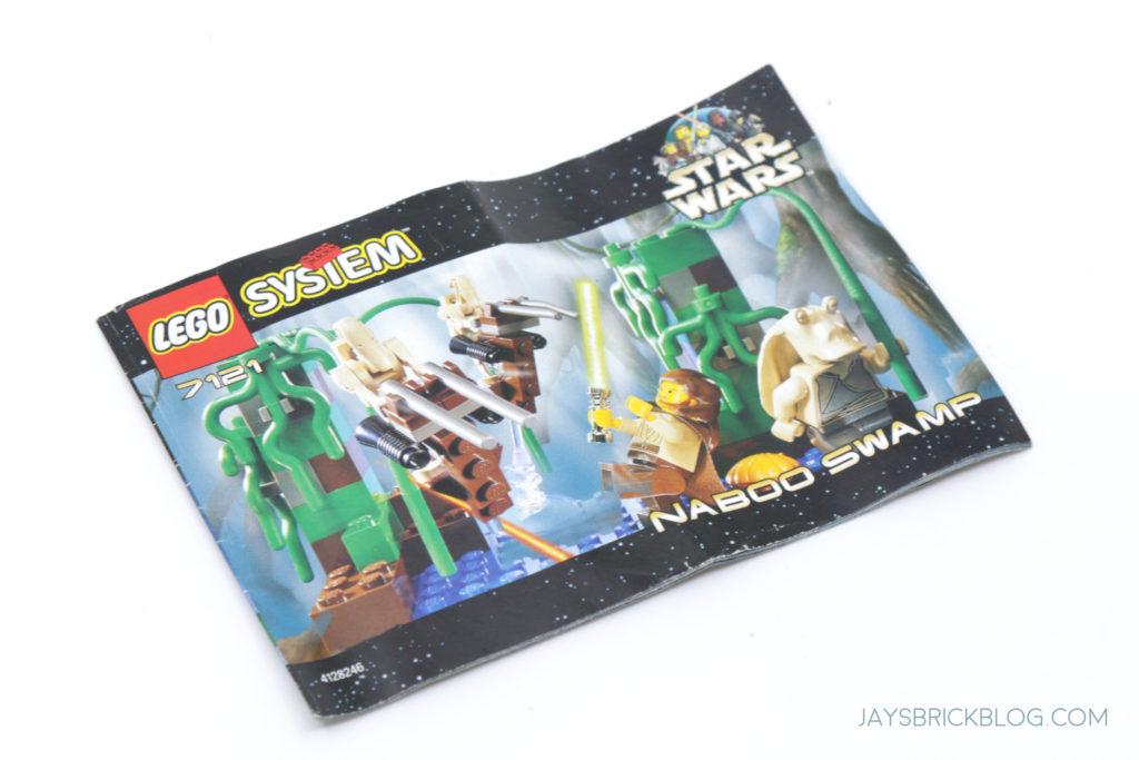 LEGO 7121 Naboo Swamp Manual