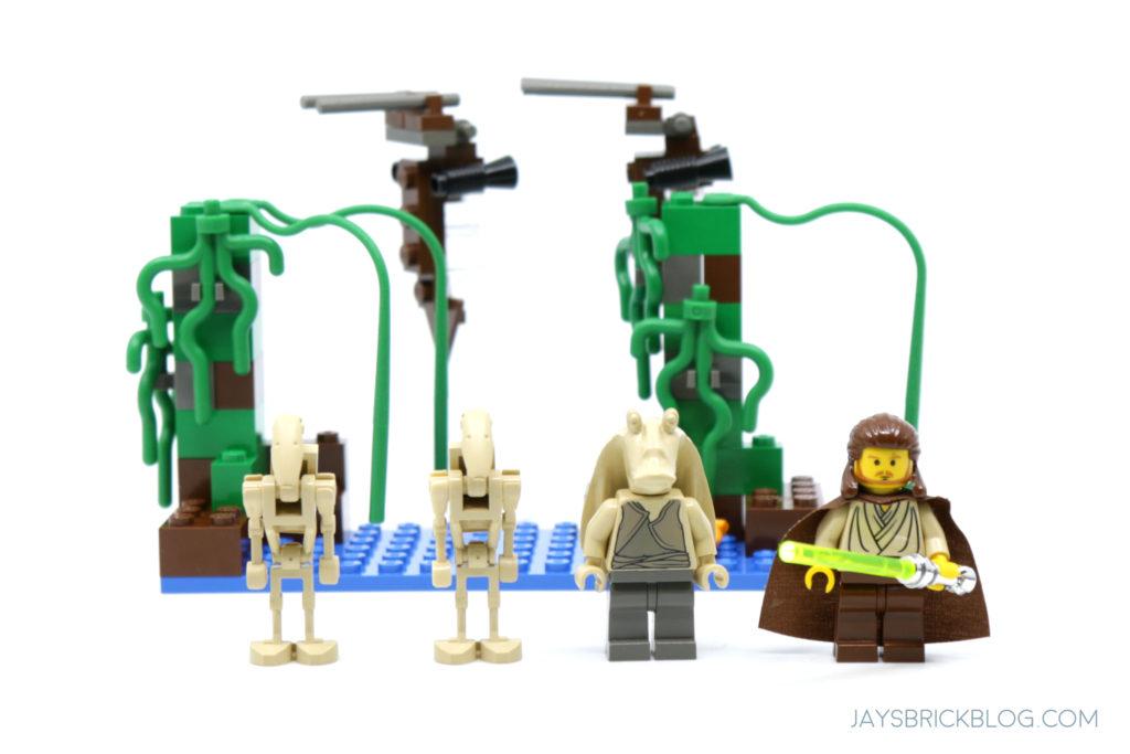 LEGO 7121 Naboo Swamp Minifigures