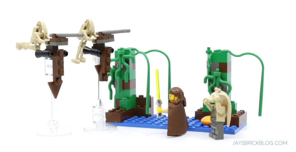 LEGO 7121 Naboo Swamp Set
