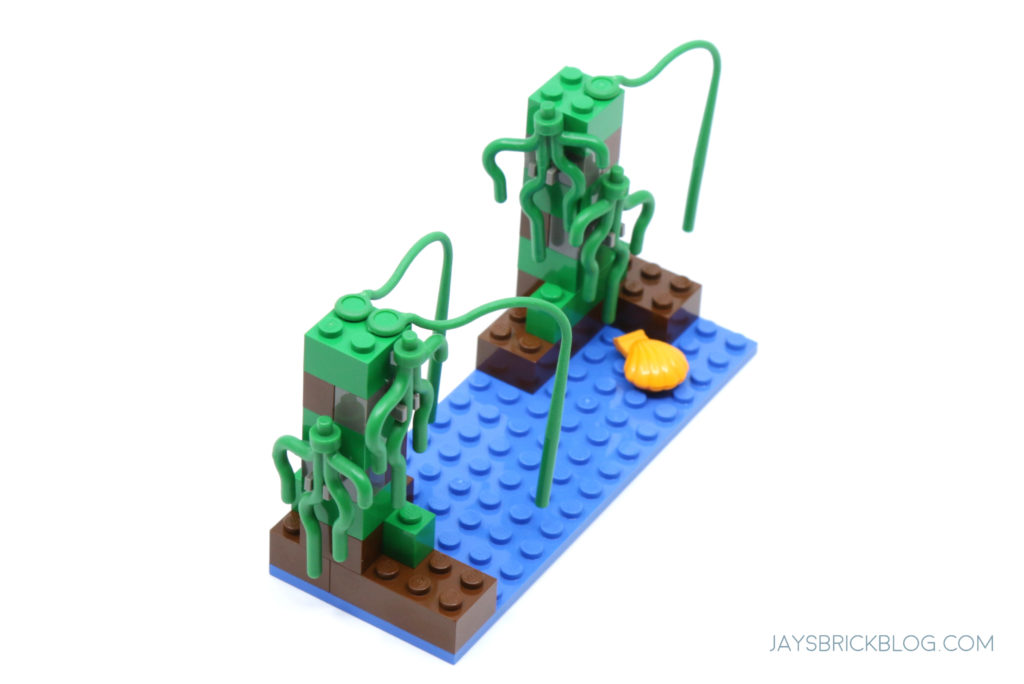 LEGO 7121 Naboo Swamp Top View