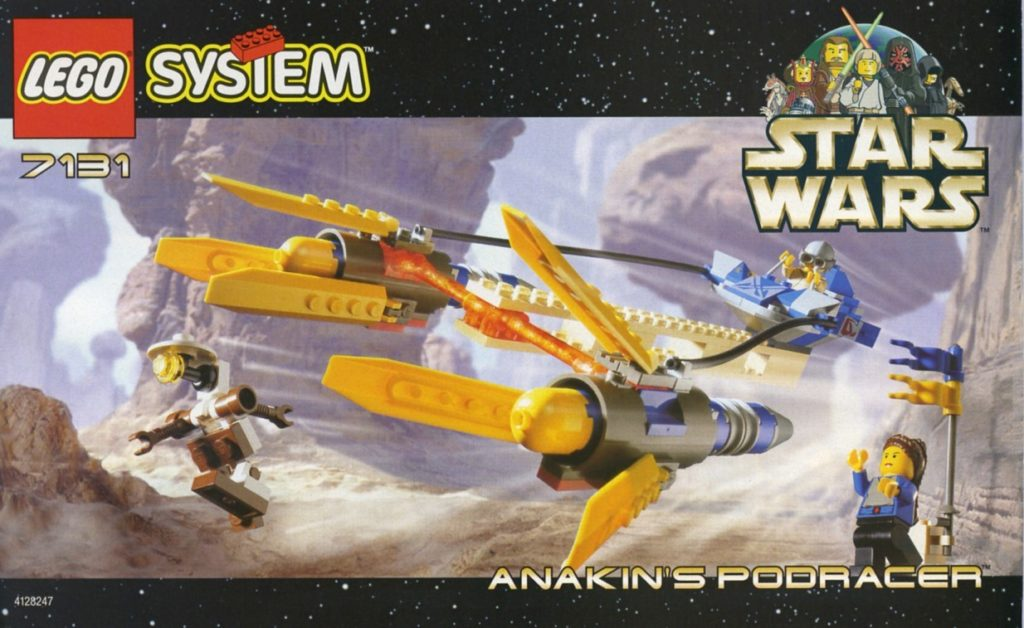 LEGO 7131 Anakins Podracer