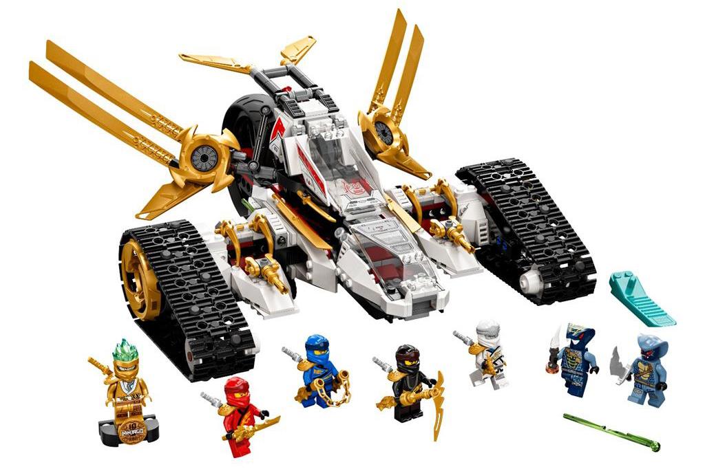 LEGO 71739 Ultra Sonic Raider Set