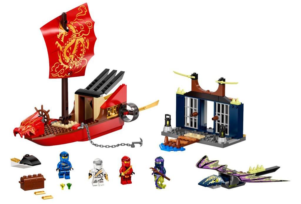 LEGO 71749 Final Flight of Destinys Bounty Set