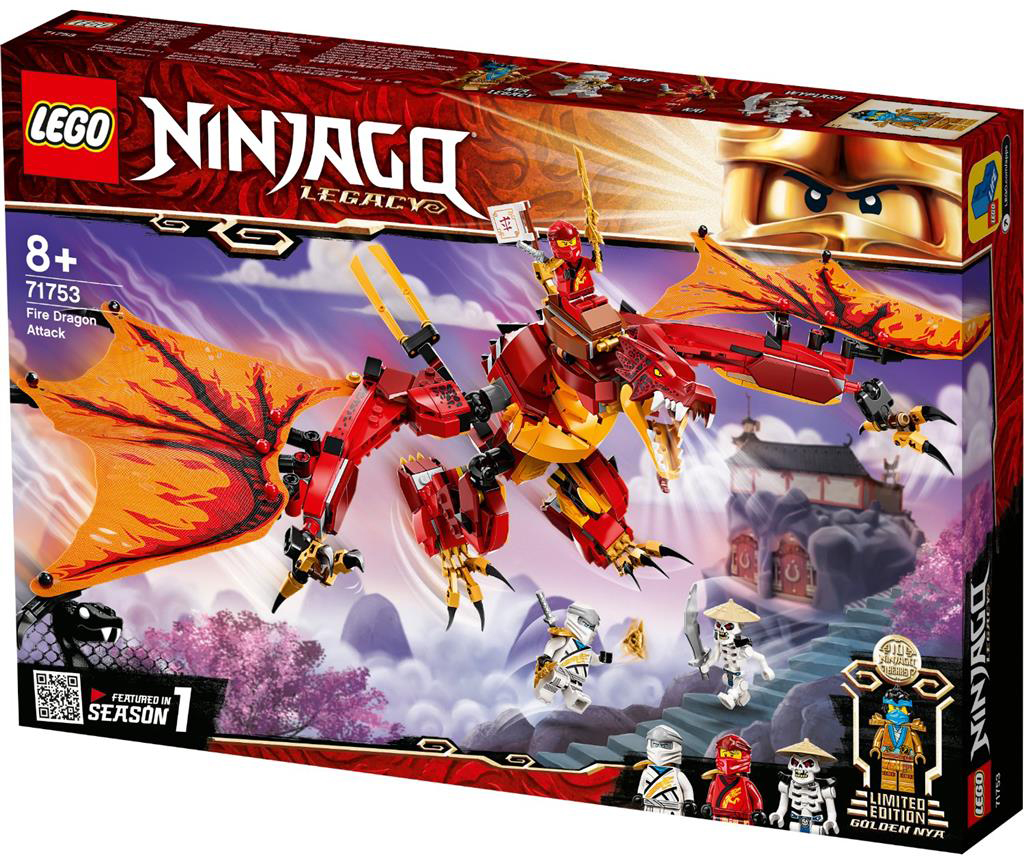 LEGO 71753 Kais Fire Dragon