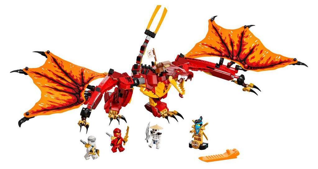 LEGO 71753 Kais Fire Dragon Set