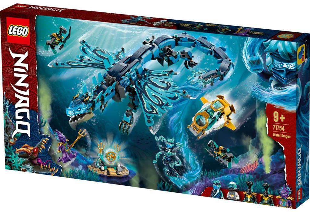 LEGO 71754 Water Dragon 1