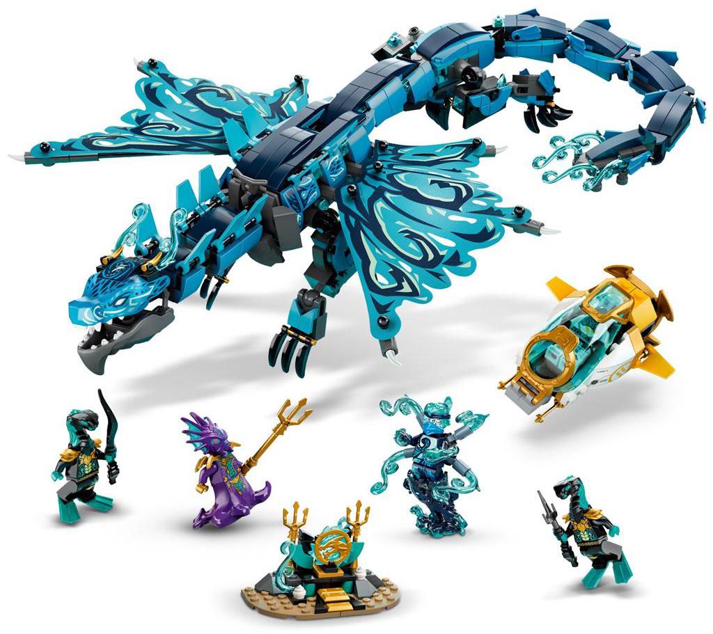 LEGO 71754 Water Dragon Set