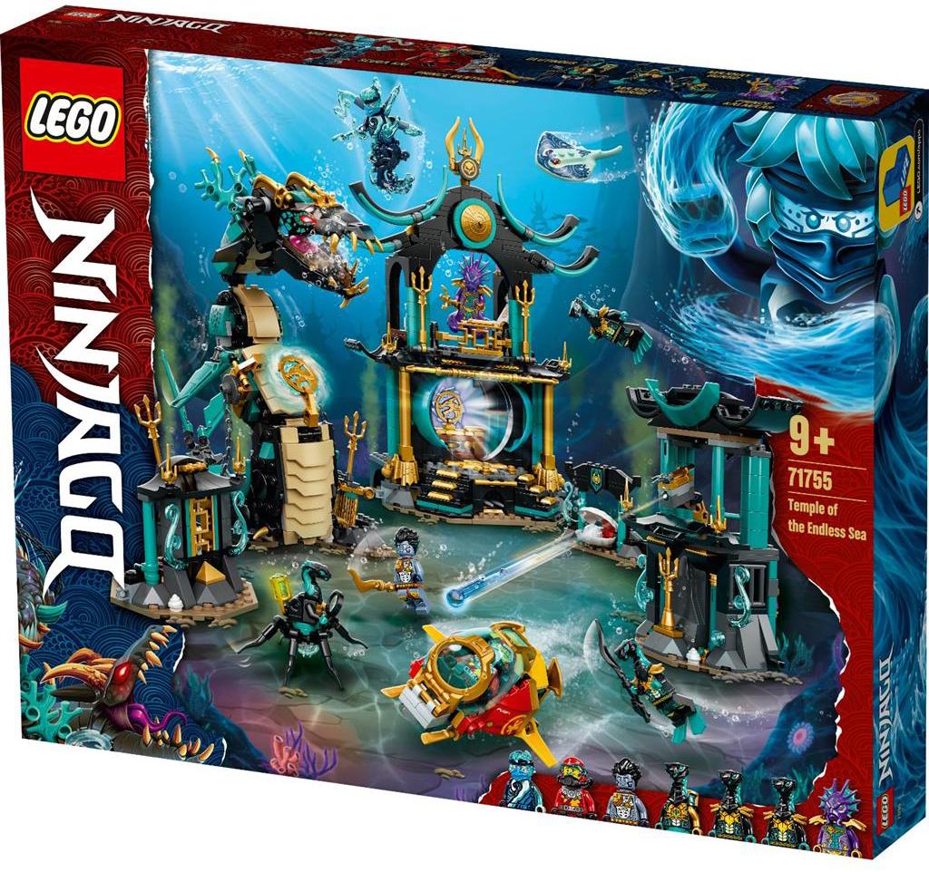 LEGO 71755 Temple of the Endless Sea Box 1