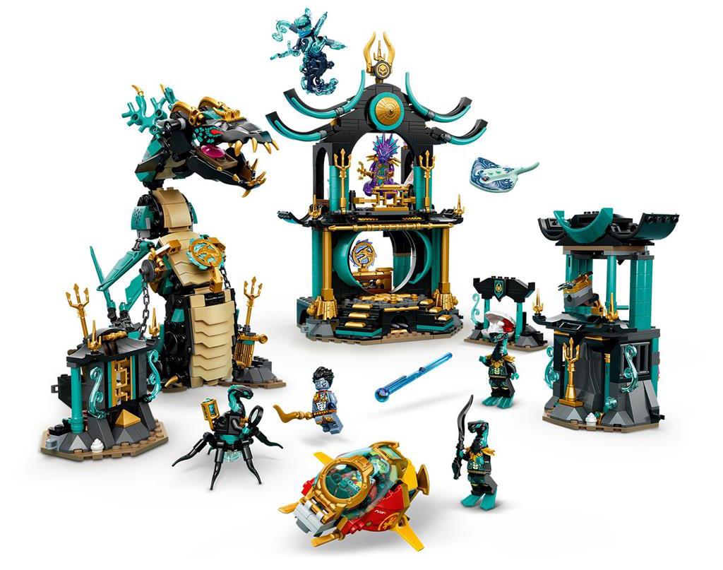 LEGO 71755 Temple of the Endless Sea Set