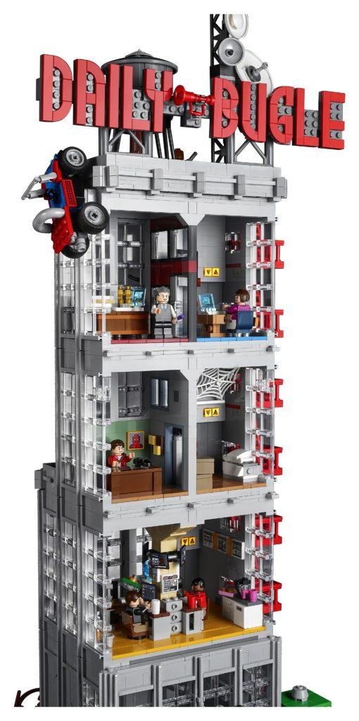 LEGO 76178 Daily Bugle Back
