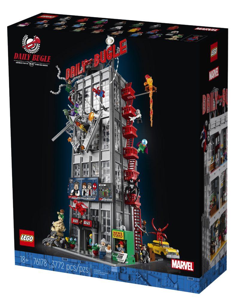 LEGO 76178 Daily Bugle Box