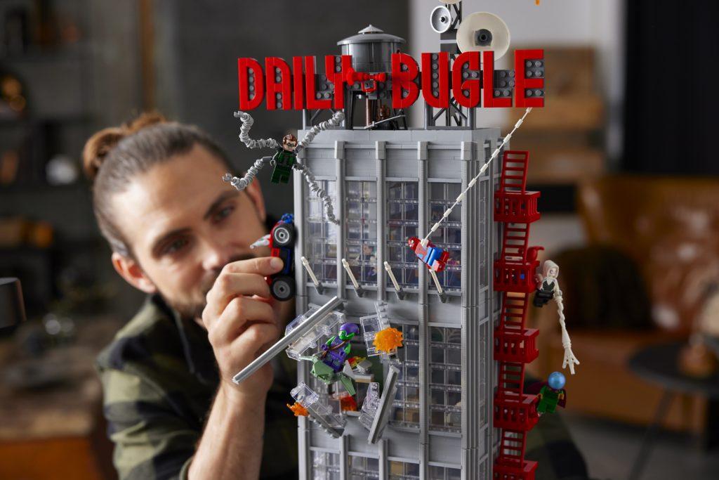 LEGO 76178 Daily Bugle Daily Bugle Exterior
