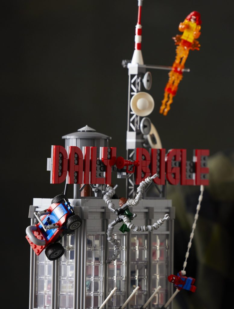 LEGO 76178 Daily Bugle Dock Ock Arms