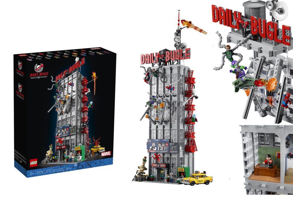 LEGO 76178 Daily Bugle Feature Photo