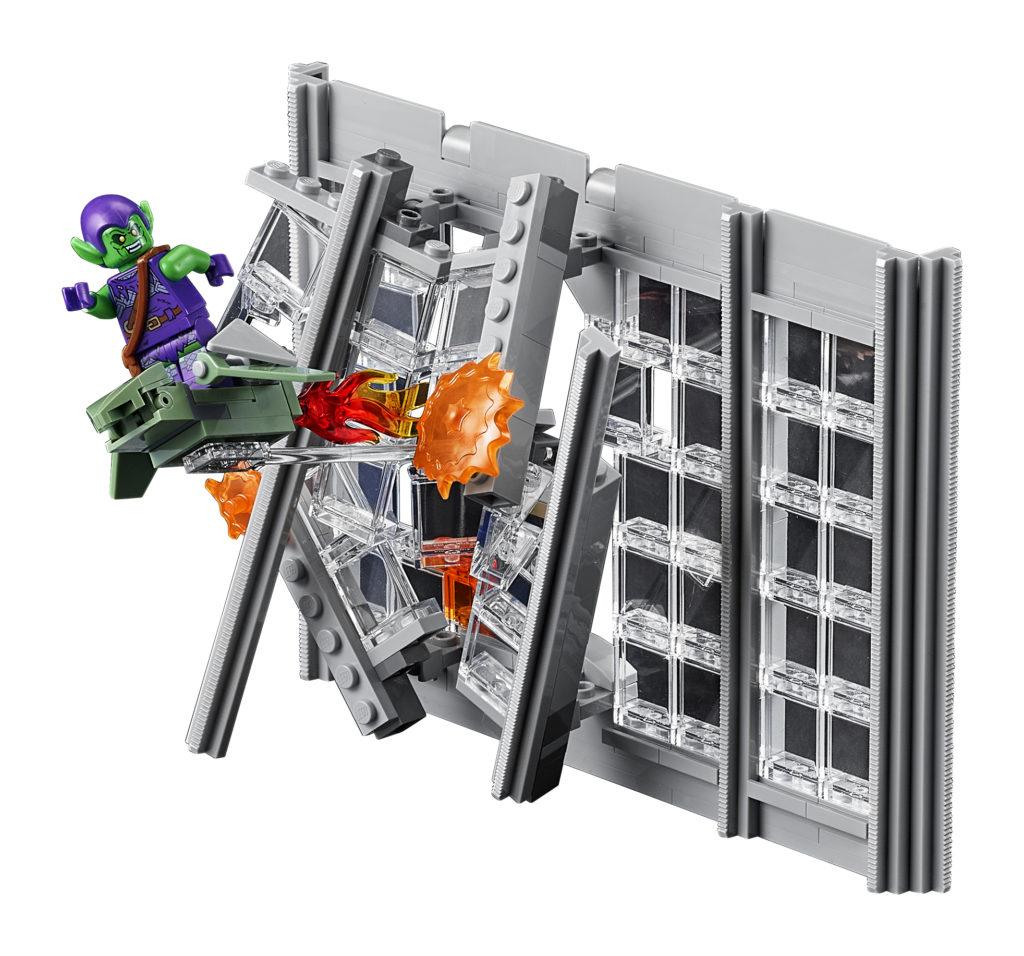 LEGO 76178 Daily Bugle Green Gobling Bursting Through
