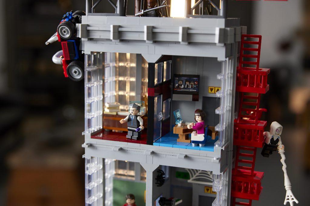LEGO 76178 Daily Bugle Office