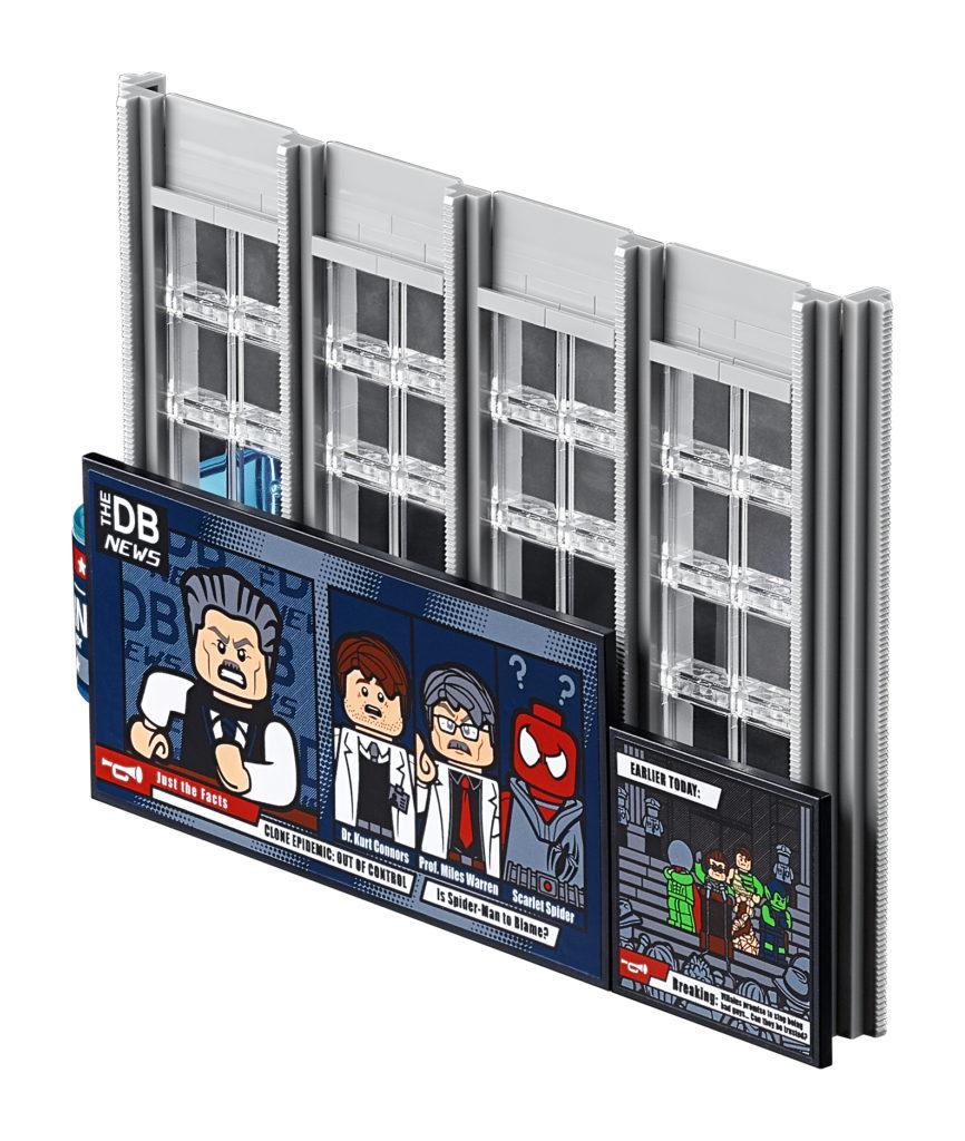 LEGO 76178 Daily Bugle Television Panel