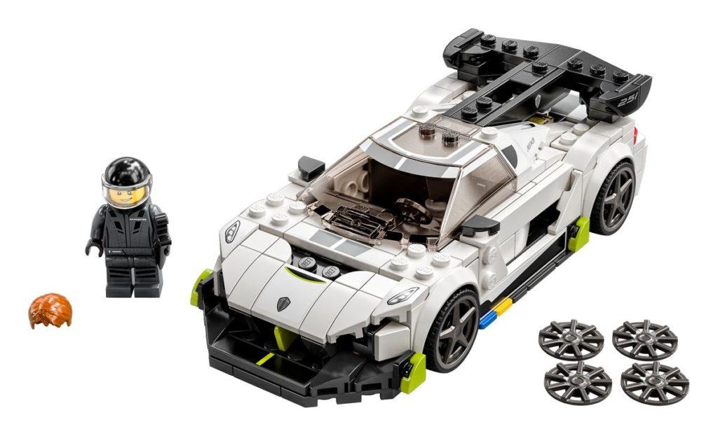LEGO 76900 Koenigsegg Jesko Set