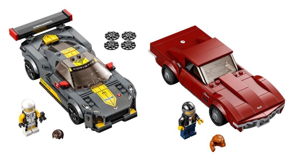 LEGO 76903 Chevrolet Corvette C8R and 1968 C3 Set