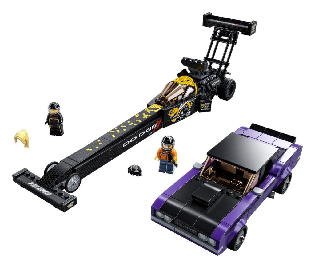 LEGO 76904 Dodge Mopat SRT Dragster