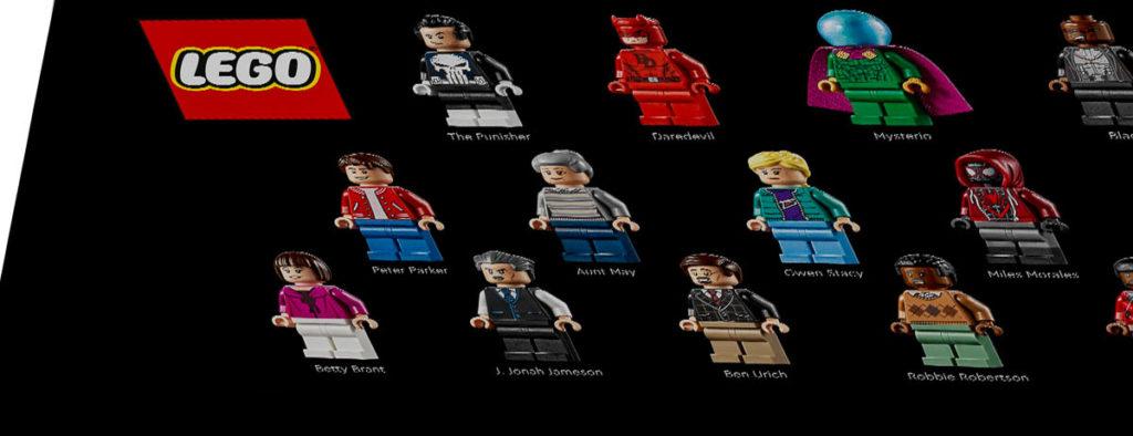 LEGO Daily Bugle Minifigures 1