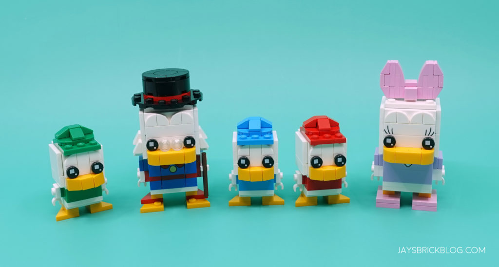 LEGO Daisy Duck and Duck Tales Brickheadz