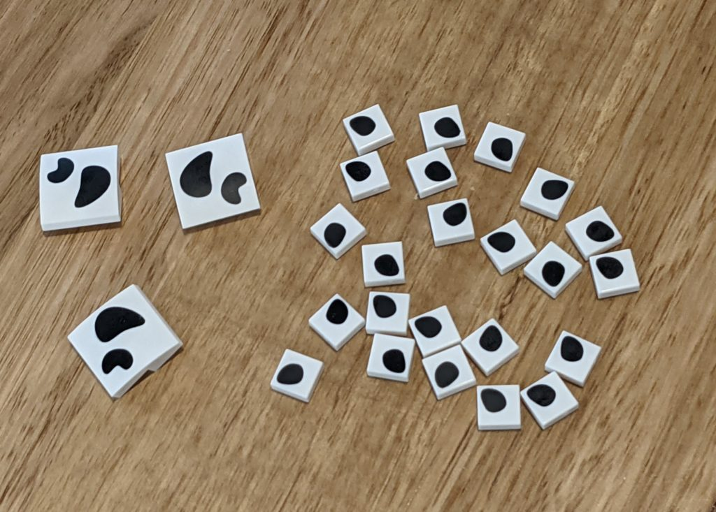 LEGO Dalmatian Brickheadz Spots