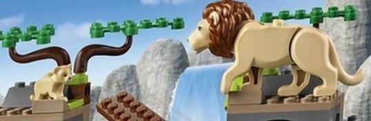 LEGO Lion and Cub