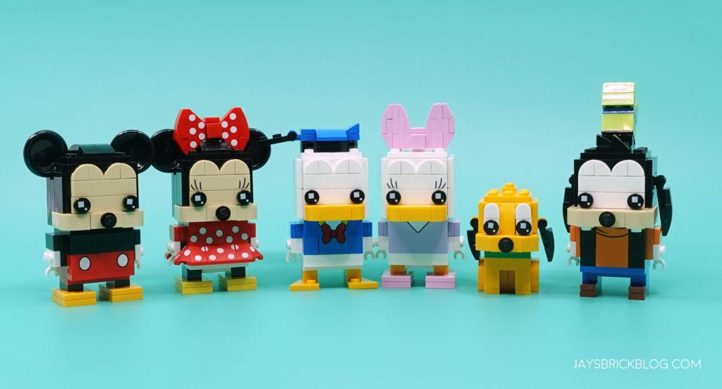 LEGO Mickey and Friends Brickheadz
