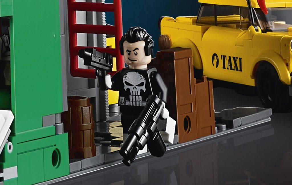 LEGO Punisher Minifigure