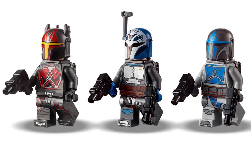 75316 Mandalorian Starfighter Minifigures