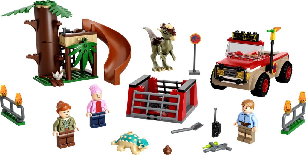 76939 Stygimoloch Dinosaur Escape Set