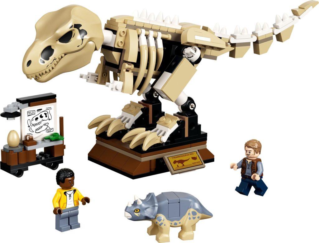 76940 T. rex Dinosaur Fossil Exhibition Set Photo