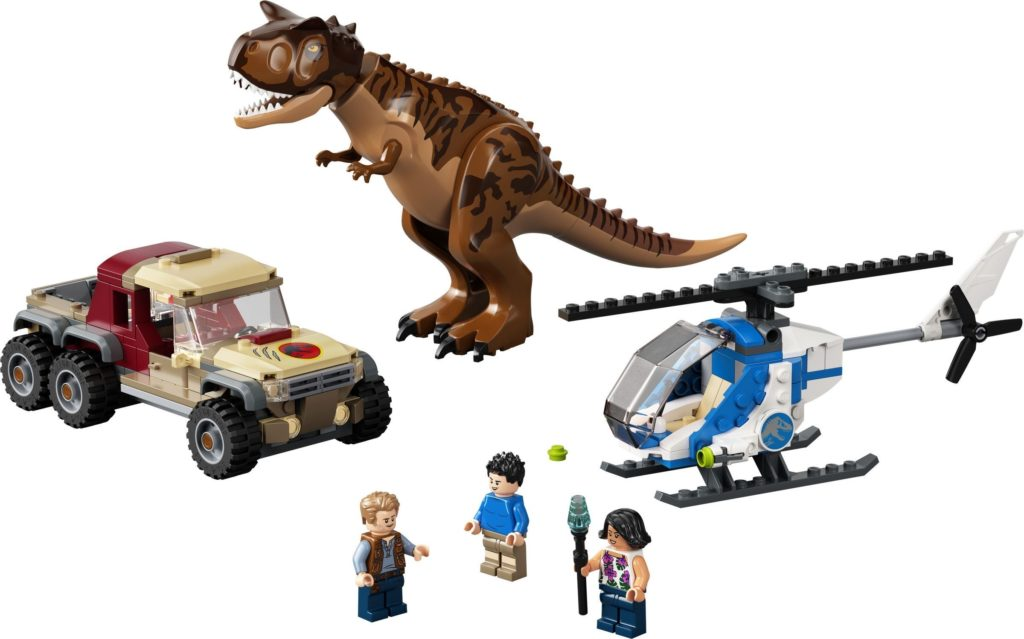 76941 Carnotaurus Dinosaur Chase Set Photo