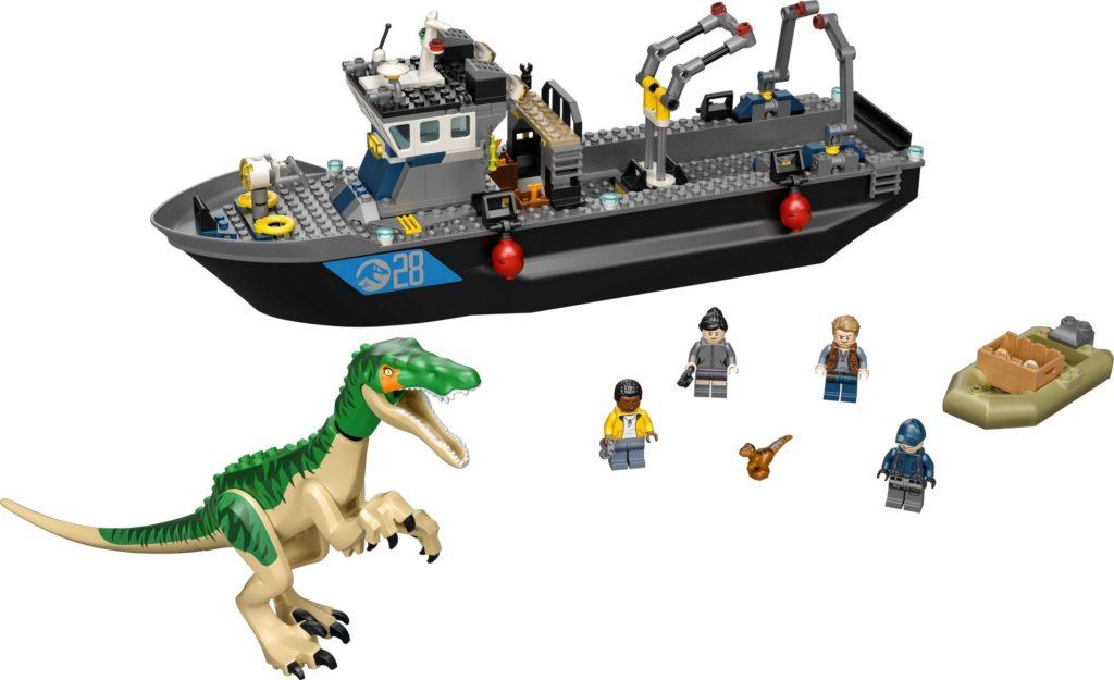76942 Baryonyx Dinosaur Boat Escape Set Photo
