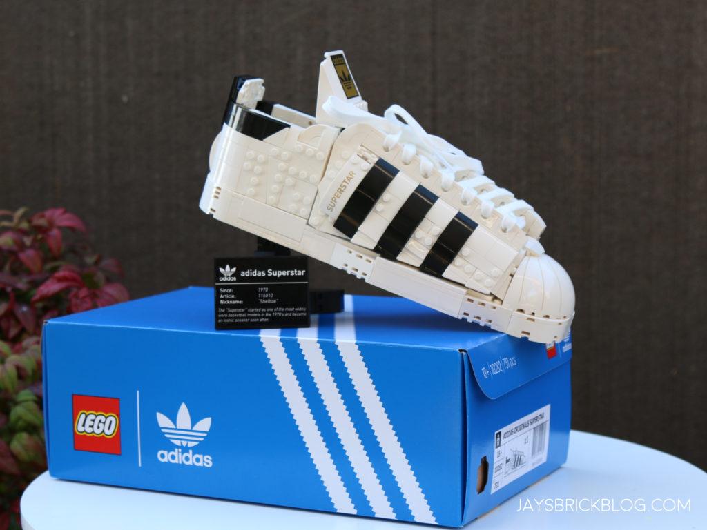LEGO 10282 Adidas Superstar Display with Box