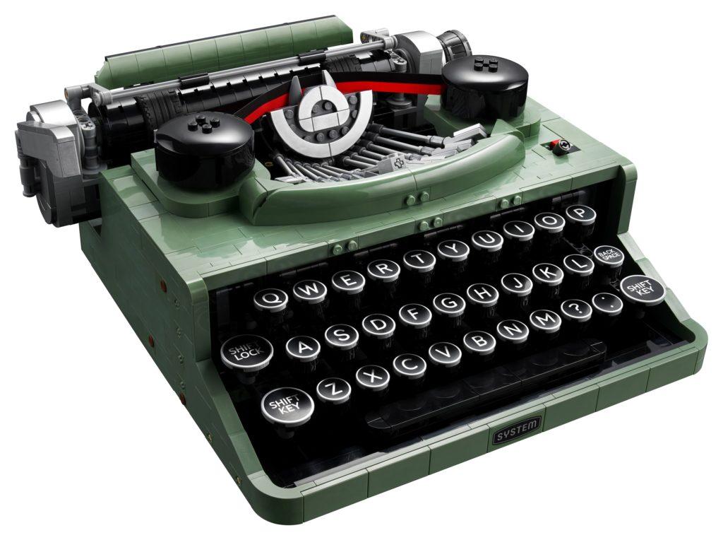 LEGO 21327 Ideas Typewriter Front View