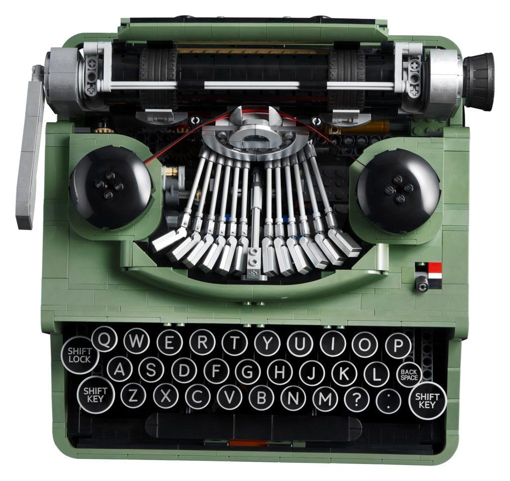 LEGO 21327 Ideas Typewriter Top