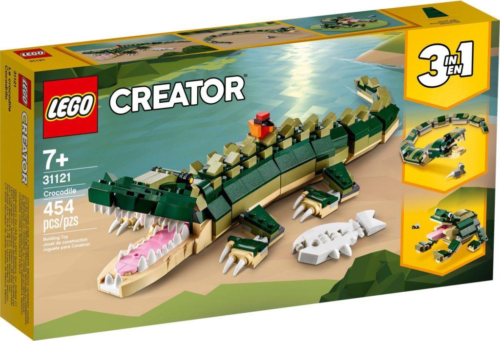 LEGO 31121 Crocodile Box